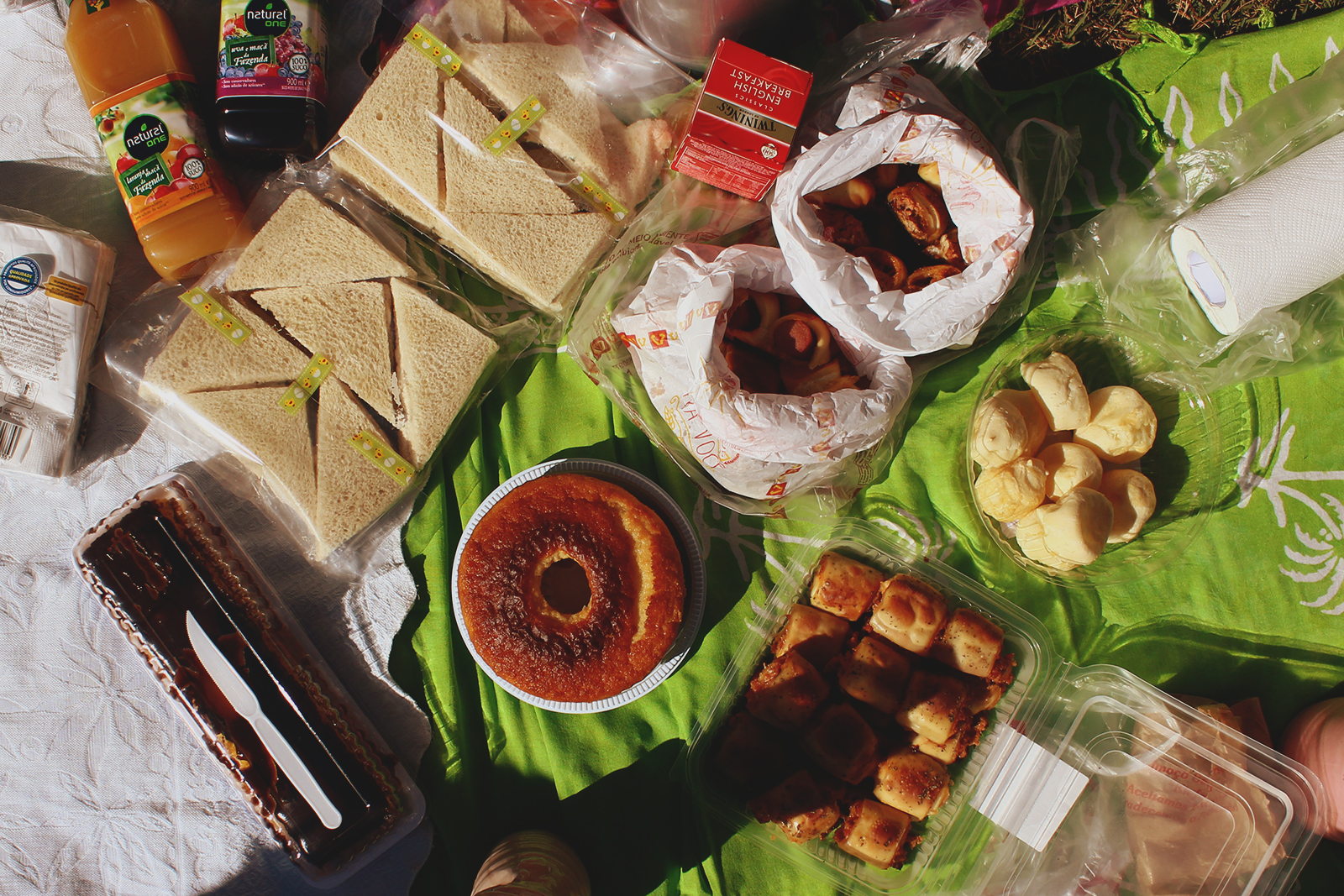 comidas piquenique