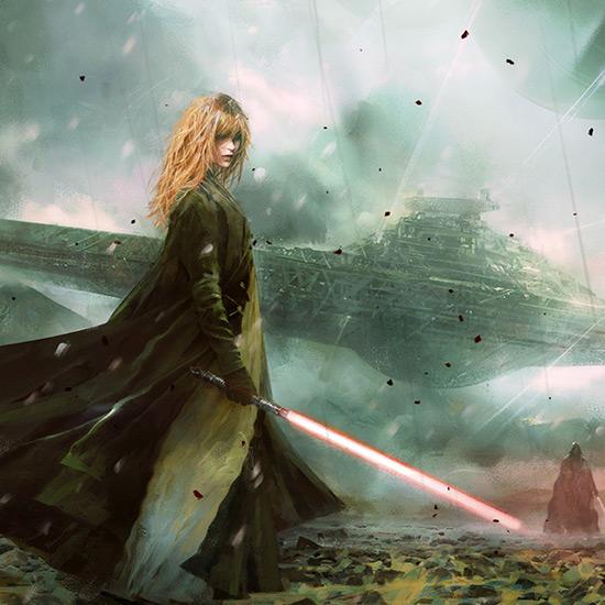 Dark Jedi Fan Art Wallpaper Engine
