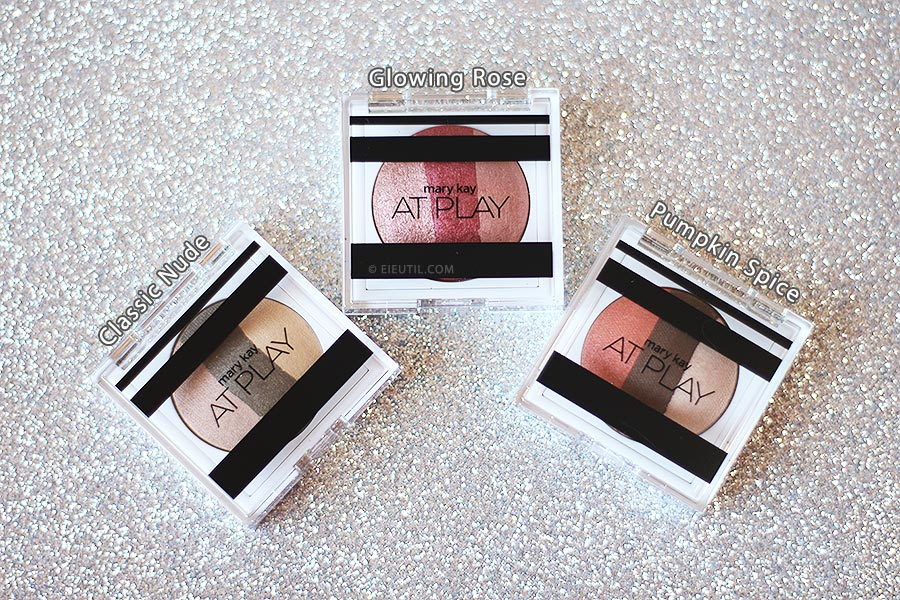 Novas Cores (2017): Trio de Sombras At Play - Mary Kay