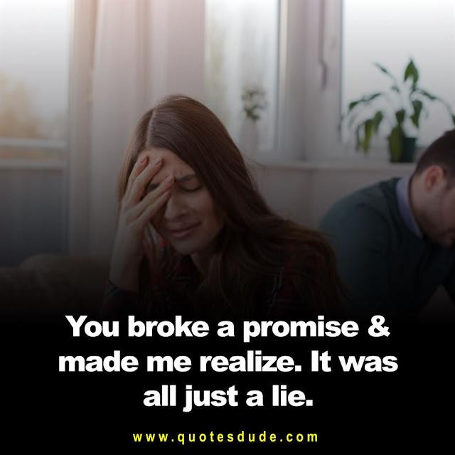 A image of best breakup status between boyfriend and girlfriend.