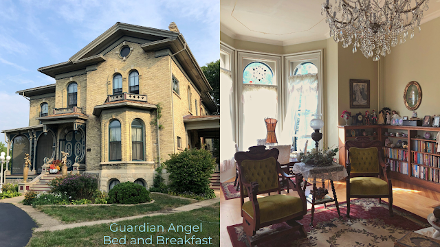 A stay at Guardian Angel Bed and Breakfast sweeps you away with a lovely, romantic spot for recharging.