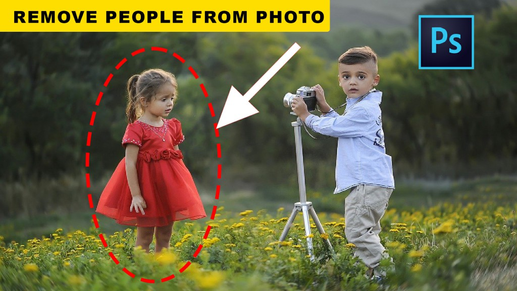 remove person or remove anything from photo