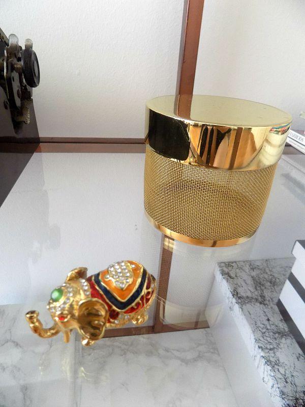 HM gold storage box