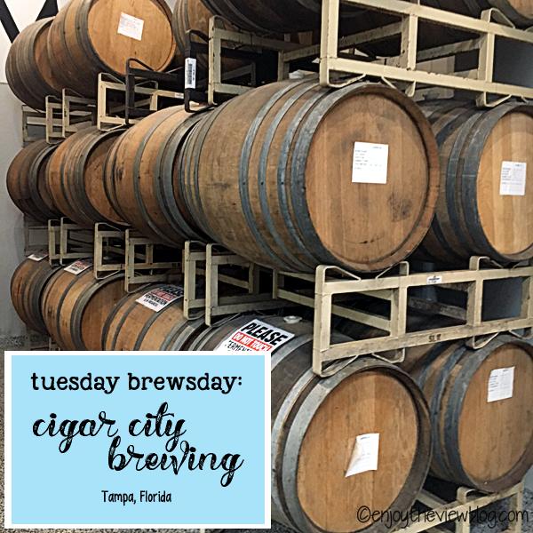 Barrel-aging brews at Cigar City Brewing in Tampa!