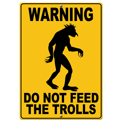comments, trolls