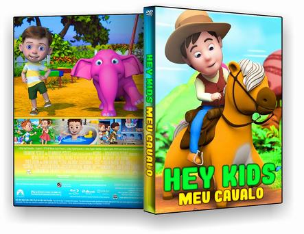 DVD HeyKids - Meu Cavalo 2019 - ISO