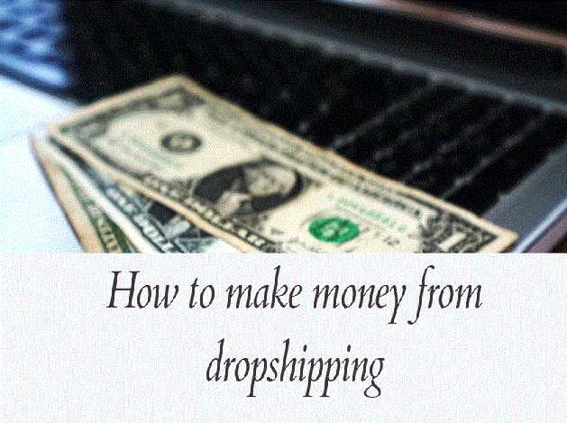 How to Make Money Online With Dropshipping