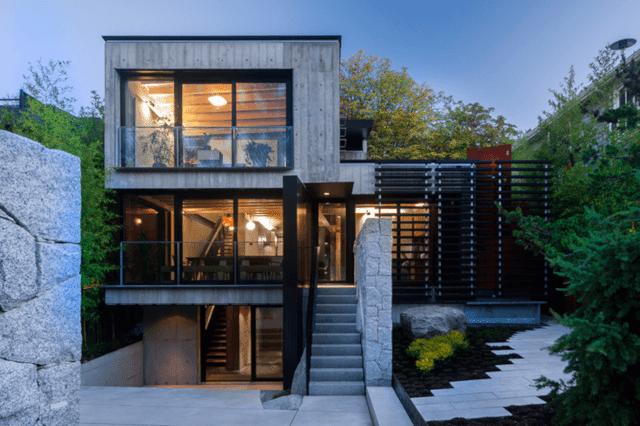 Rumah Lantai 3 Gaya Scandinavian