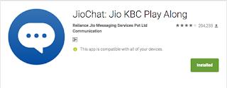 Download Jio KBC Play Along