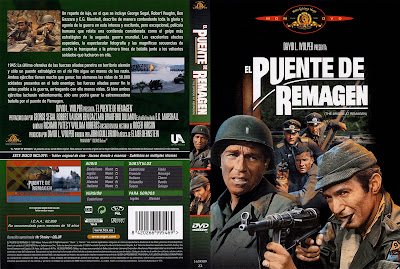 Carátula dvd: El Puente de Remagen (1969) (The Bridge at Remagen)