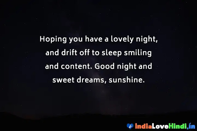 good night status for distance relationship