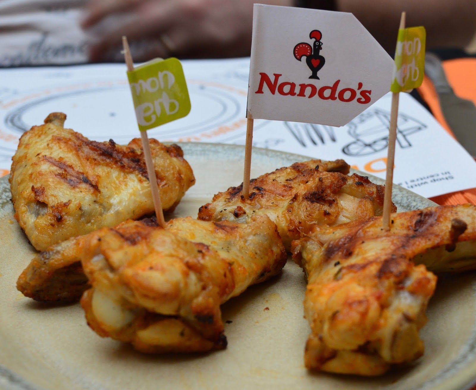 Our Guide to Family Restaurants & Children's Menus at intu Metrocentre  - chicken wings from nandos