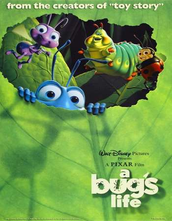 A Bug's Life 1998 Hindi Dual Audio BRRip Full Movie Download