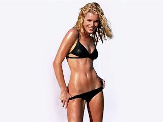 Rebecca Romijn Black Bikini 3