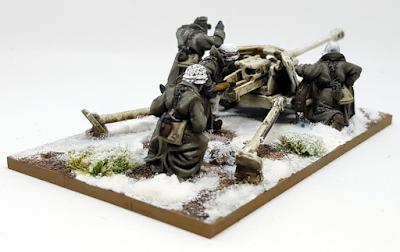 German Pak 40 Battle of the Bulge