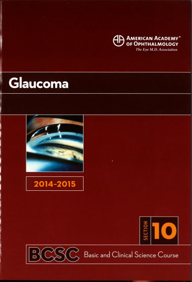 [AAO 2014-2015] Section 10 Glaucoma [PDF]