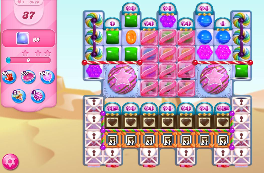 Candy Crush Saga level 8675