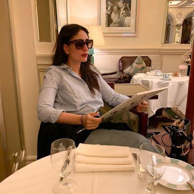 Bollywood actress Kareena Kapoor Khan has shared food for thought
