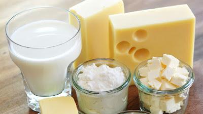 Productos lácteos saludables