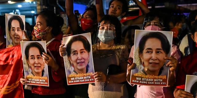 Pengamat: Kudeta Militer Myanmar Akhir Karier Politik Aung San Suu Kyi
