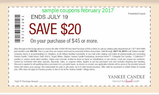 free Yankee Candle coupons for february 2017