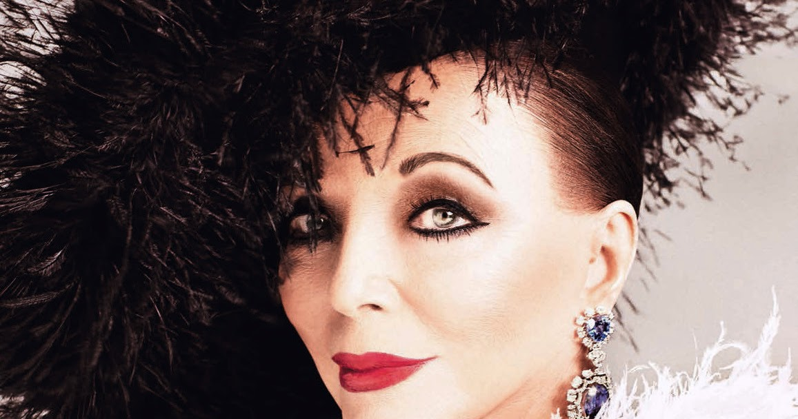 de7d154f7720 Dame Joan Collins in Tatler Magazine UK May 2019 by Luc Braquet