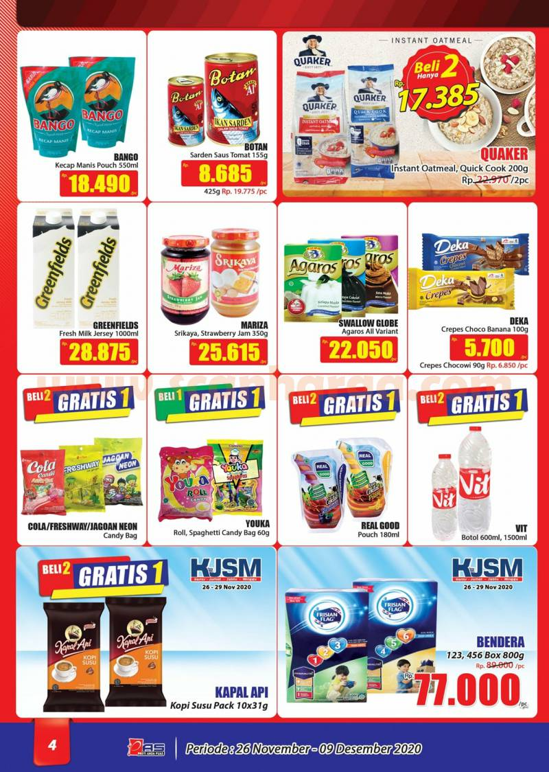 Katalog Promo Hari Hari Pasar Swalayan 26 November - 9 Desember 2020 4