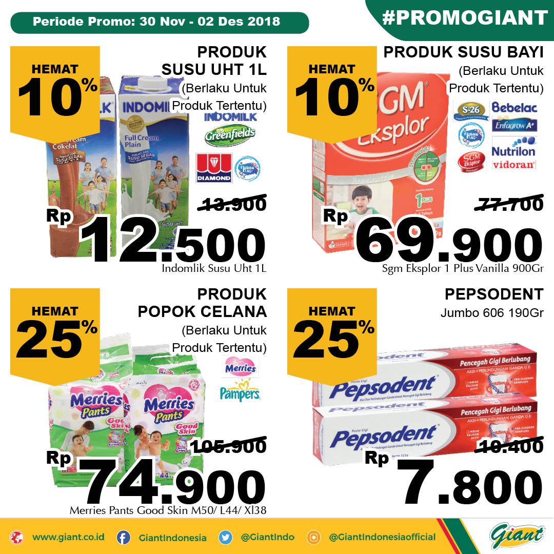 Giant - Promo Katalog JSM Periode 30 - 02 Desember 2018