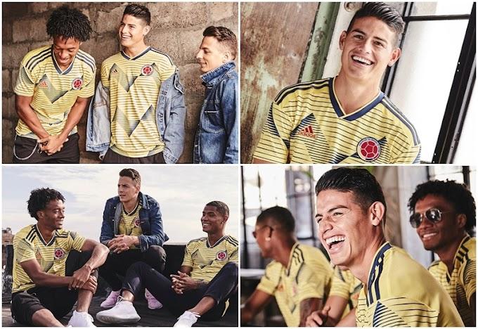 ¡Confirmada! La Selección Colombia ya tiene camiseta para la Copa América y las Eliminatorias