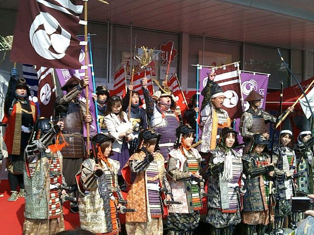Mihara Ukishiro Matsuri (event at Mihara Catsle), Mihara City, Hiroshima Pref.