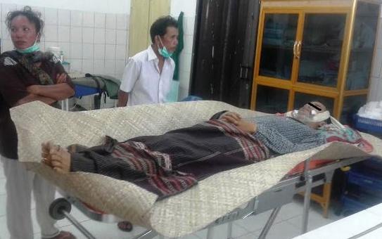 Jasad korban di Instalasi Forensik RSUD Djasamen Saragih.