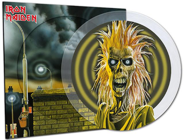 Edição especial em vinil comemora os 40 anos do primeiro disco do Iron Maiden