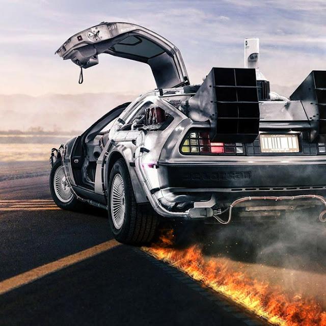 DeLorean Wallpaper Engine