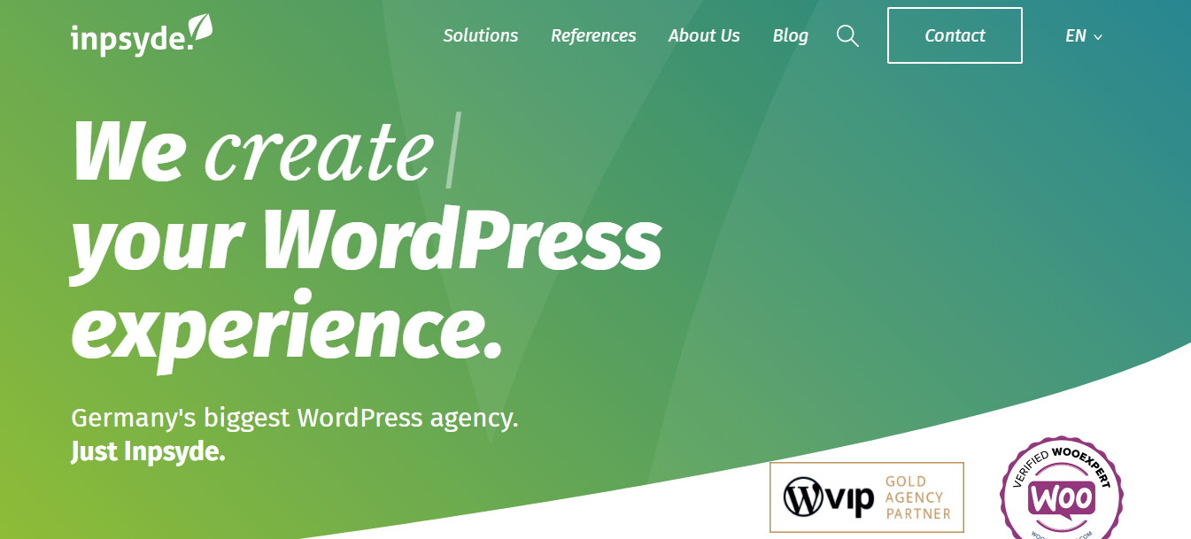 Inpsyde WordPress development services agency