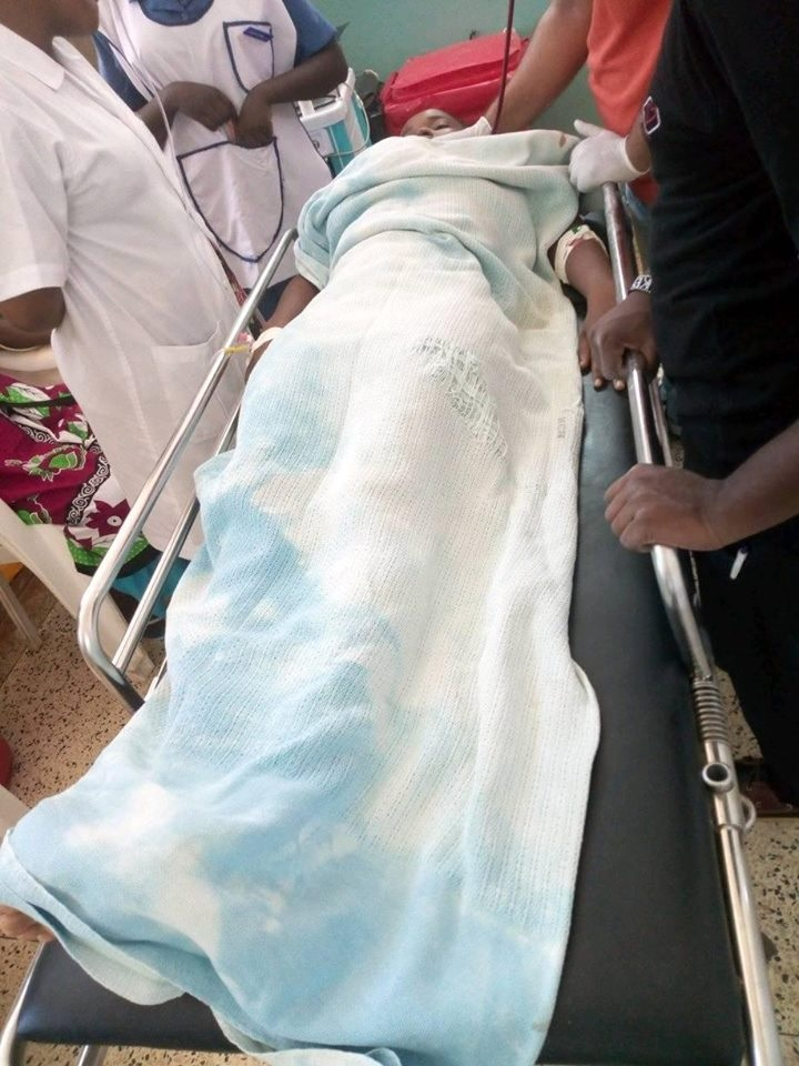 stabbed%2B1 - PHOTOs of the Pwani University student stabbed by boyfriend in attempted murder, Details of what happened.