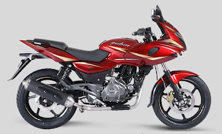 Bajaj Pulsar 220 Dyno Red color