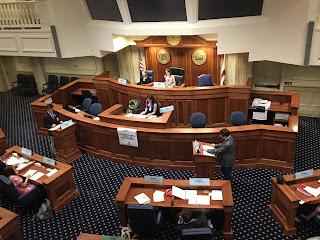 Montgomery Catholic Successful at 2018 YMCA Youth Legislature Conference 1