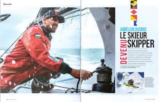 Géo Aventure n°10 - Aurélien Ducroz/Class40 - ©Laurent Salino