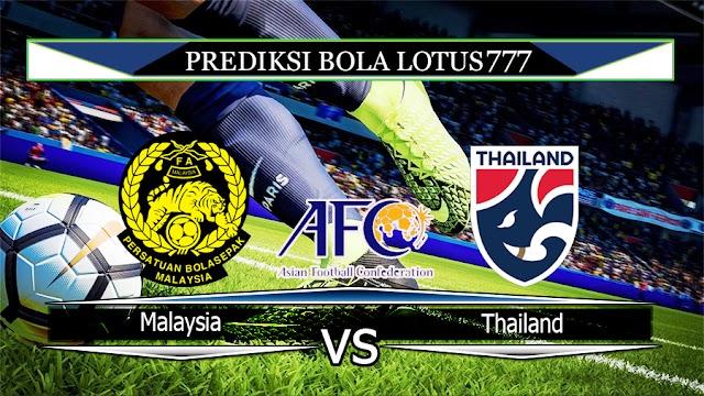 Prediksi Malaysia vs Thailand 14 November 2019