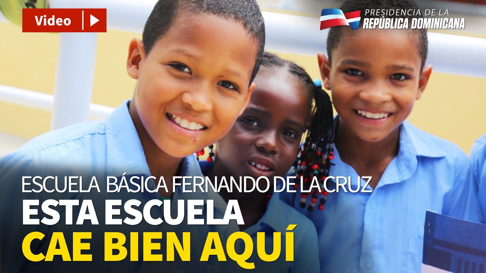 VIDEO: Los estudiantes de la Escuela Fernando de la Cruz ya tienen su propio plantel. Danilo entrega un moderno centro educativo en Sierra Prieta