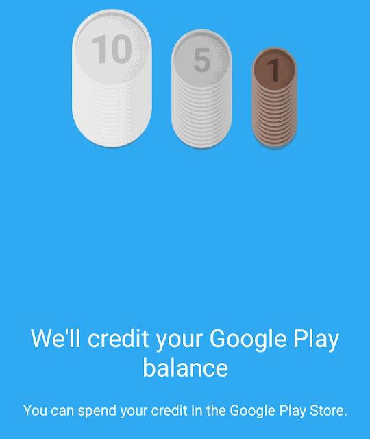 Google opinion reward , free google play credits