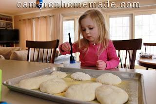 Baking Heart-Shaped Loaves - 6