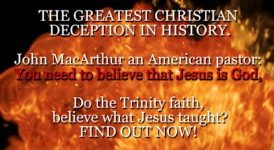 THE GREATEST CHRISTIAN DECEPTION IN HISTORY. John MacArthur an American pastor, says: You need to believe that Jesus is God.