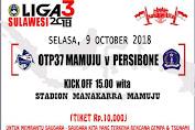 Leg 2 Persibo Vs OTP37 Mamuju, Hasil Jualan Tiket untuk Korban Gempa dan Tsunami