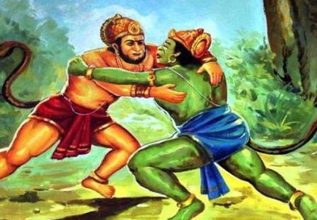 हनुमान और बाली के मध्य युद्ध में कौन जीता? (Who won the fight between Hanuman and Bali)