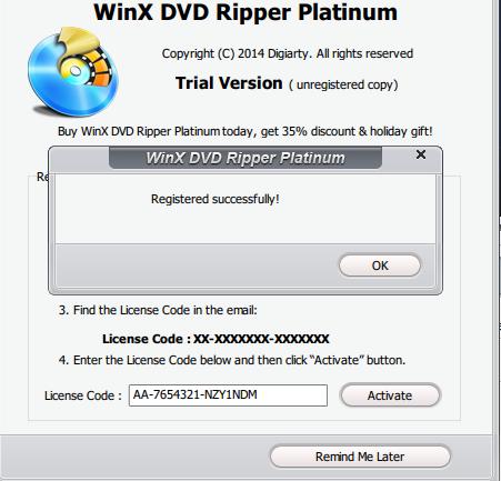 WinX DVD Ripper Platinum 7 5 5 + License Code | Wordpress