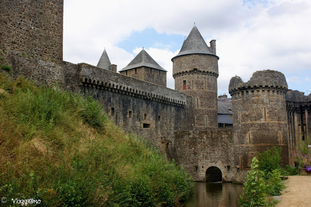 Parte della Cinta Muraria e del Castello di Fougeres