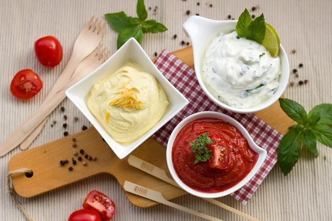 Salsa para ensaladas mínimas calorías