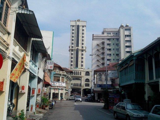 Улица старого города Джорджтаун