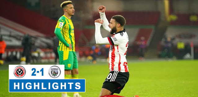 Sheffield United vs West Bromwich Albion – Highlights